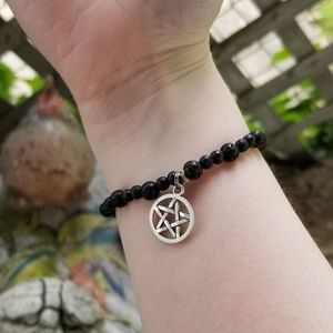 Jewelry - HAND MADE PENTACLE ESSENTIAL OILS BRACELET